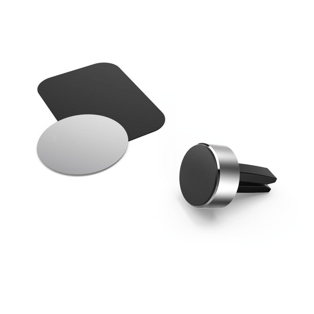 Магнитна стойка за телефон HAMA Magnetic Aluminium, Черен