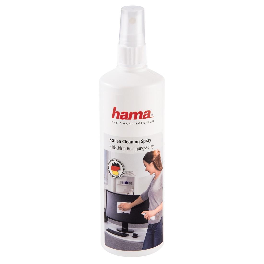 Почистващ спрей HAMA за TFT/LCD/PDA дисплеи -12 бр/кашон