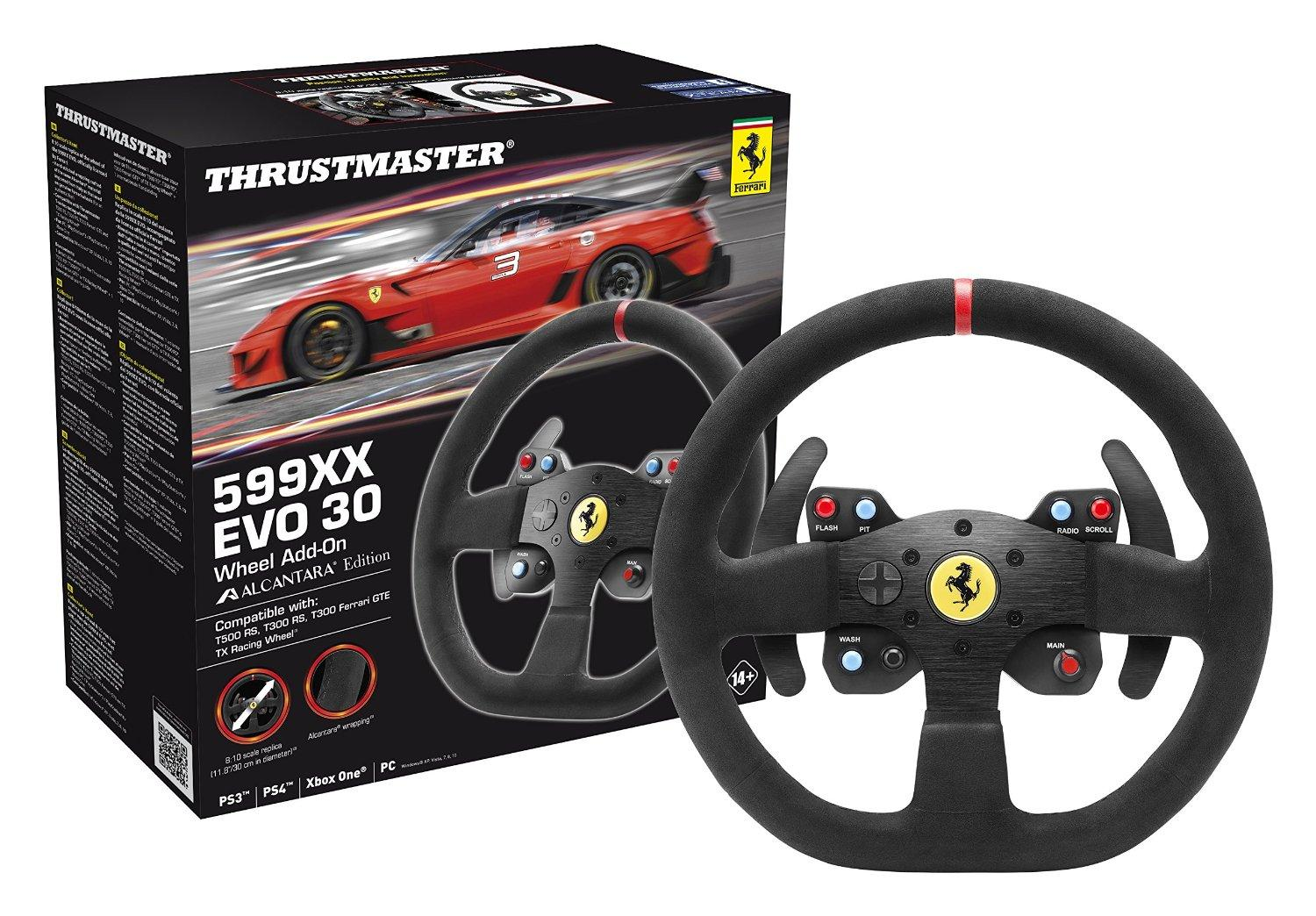 Волан THRUSTMASTER, 599XX EVO 30 Add-On, серия  Алкантара