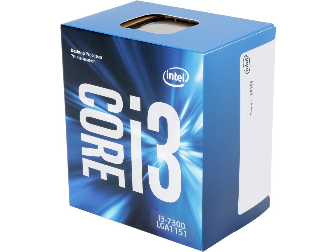 Процесор Intel Kaby lake Core i3-7300 4.0GHz, 4MB, 51W LGA1151, BOX