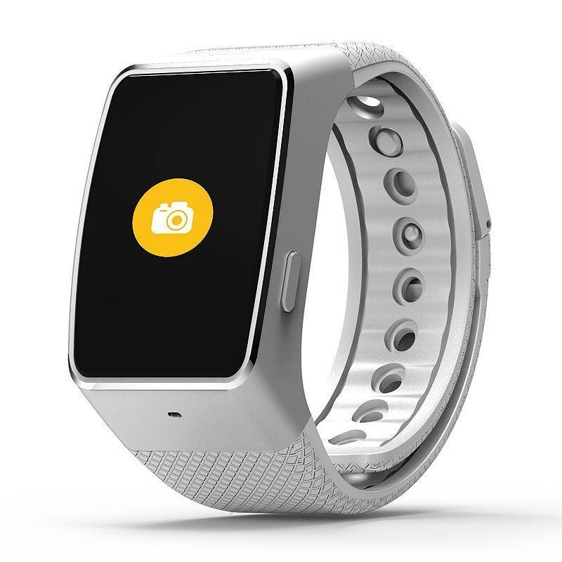 Смарт часовник MyKronoz Zewatch 4 HR, Сребрист/Бял