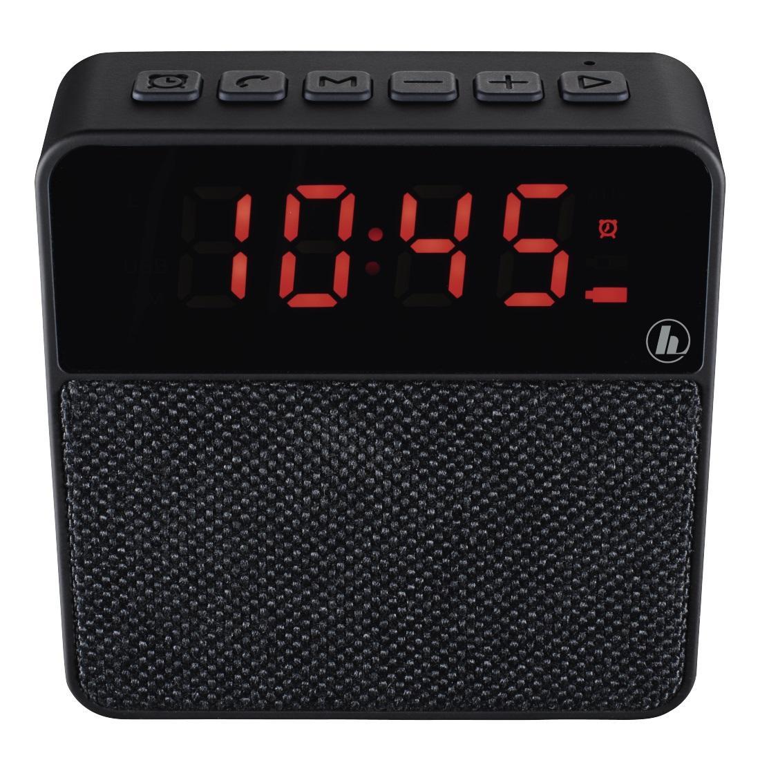 Блутут мобилна колонка HAMA Pocket Clock, черен