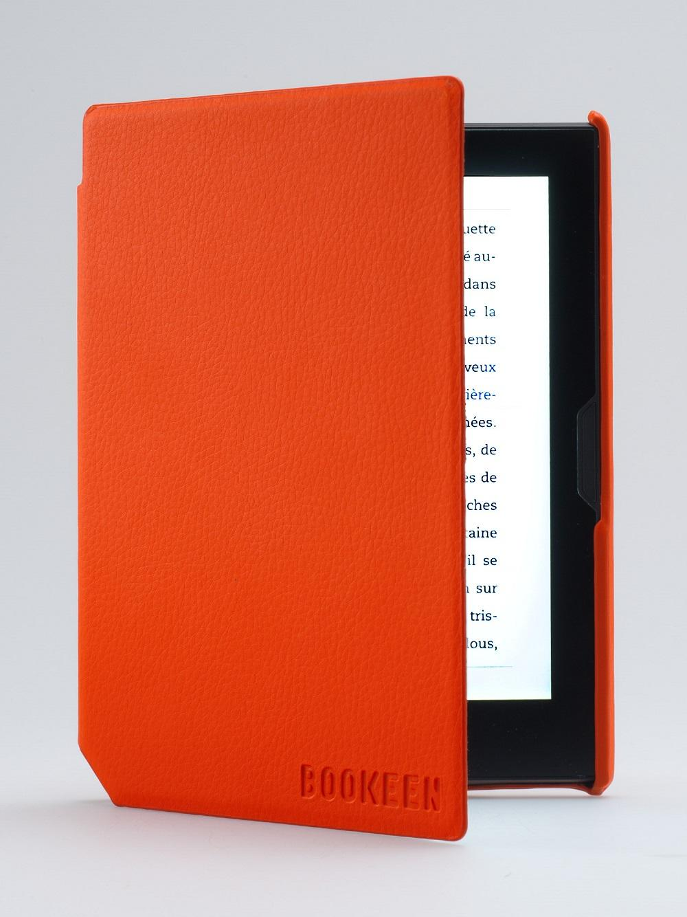 Калъф BOOKEEN за eBook четец Cybook Muse, 6 inch, оранжев
