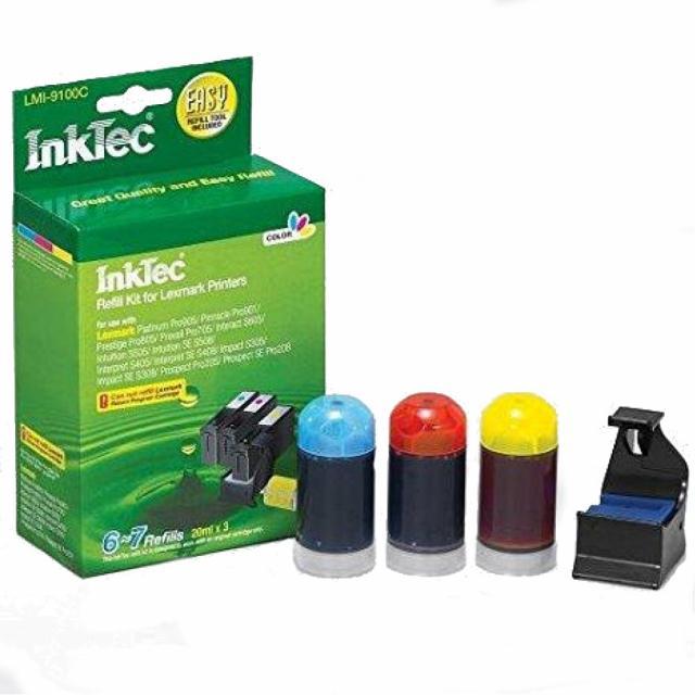 Рефил INKTEC HP- 0002, Color /3 x 20 ml/