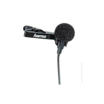 Дигитален стерео микрофон за преносим компютър със стерео жак HAMA, 3.5mm, Черен