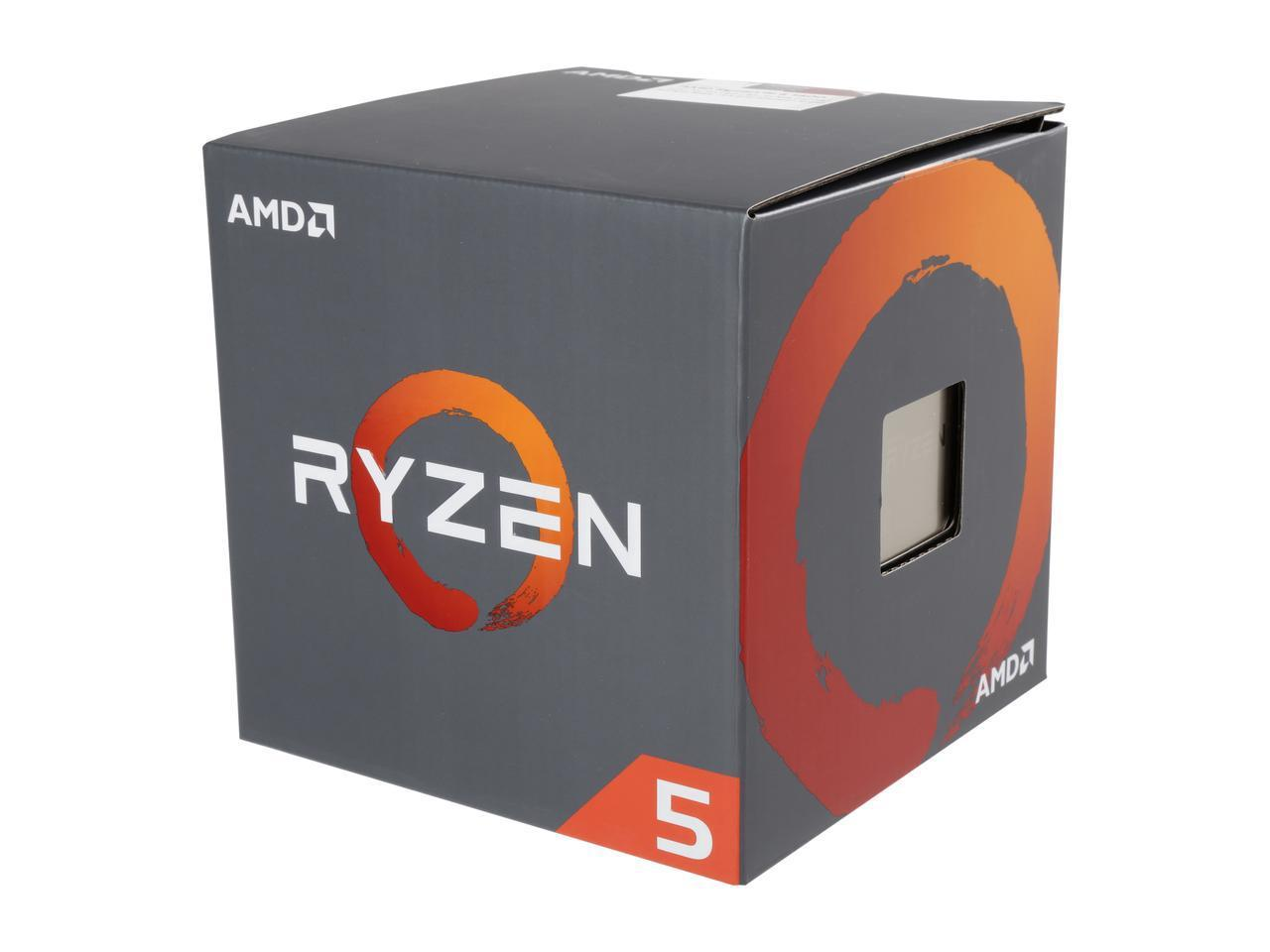 Процесор AMD RYZEN 5 1400 4-Core 3.2 GHz (3.4 GHz Turbo) 10MB/65W/AM4/BOX