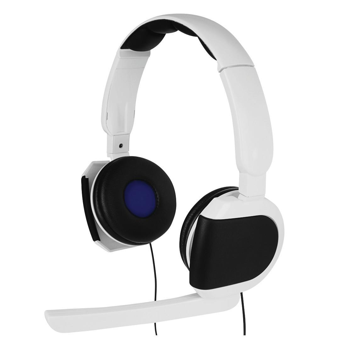 Геймърски слушалки HAMA Insomnia VR 115458 за PS4/PS VR, Черно/Бяло