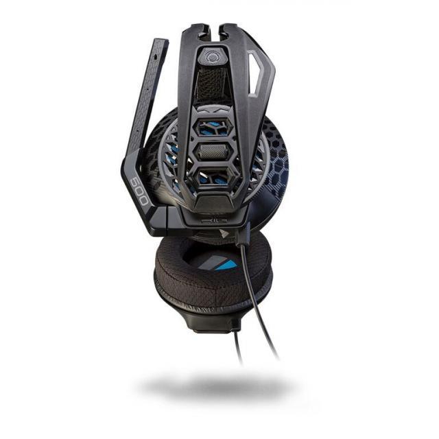 Геймърски слушалки Plantronics, Rig 500E, Микрофон, Черно