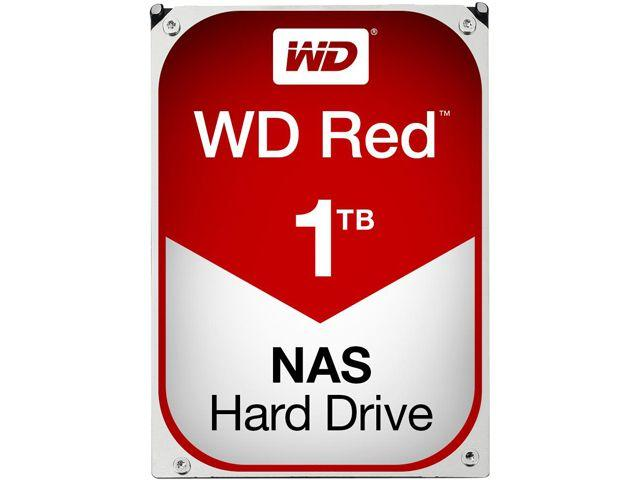Хард диск WD RED, 1TB, 5400rpm, 64MB, SATA 3