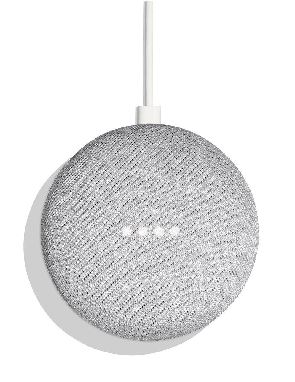 Безжична колонка Google Home mini Speaker, Сив