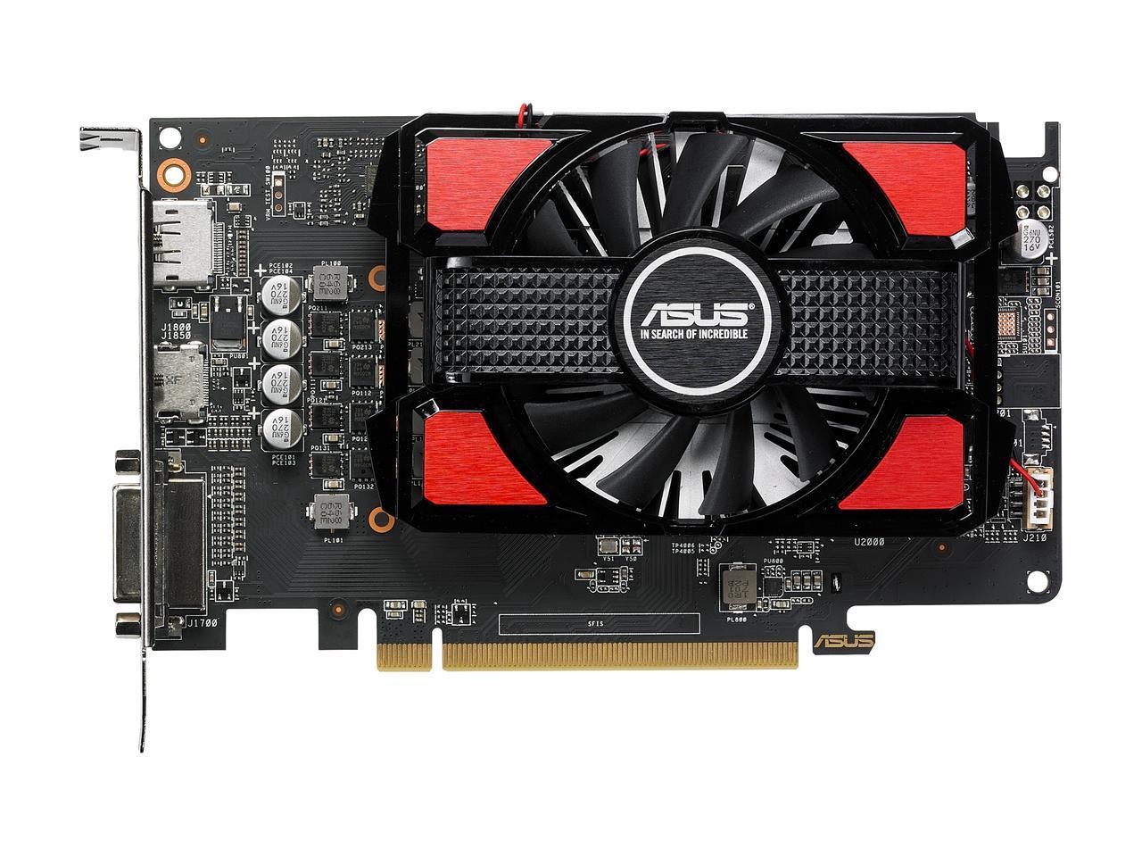 Видео карта ASUS Radeon RX 550 2GB GDDR5 128 bit RX550-2G