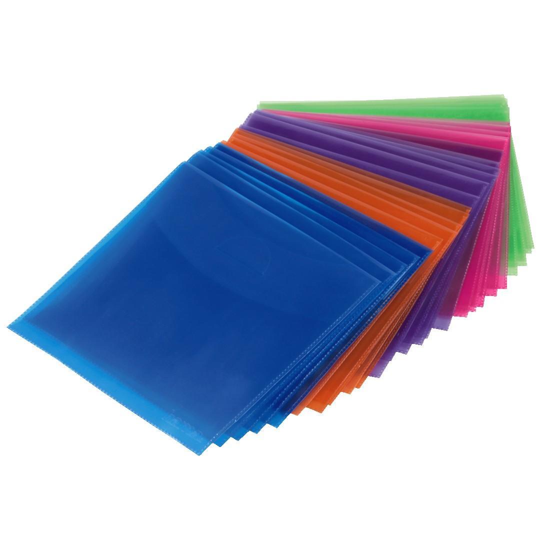 Полиетиленов плик CD- 100 бр.пакет HAMA, различни цветове