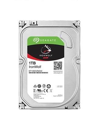 Хард диск SEAGATE IronWolf NAS, 1TB, 64MB, 5900 rpm, SATA 6.0Gb/s, ST1000VN002