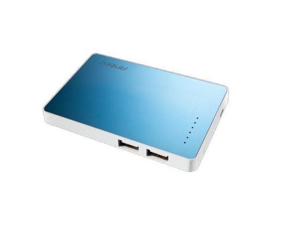 Външна батерия ANTEC APS2200, 2200 mAh, синя