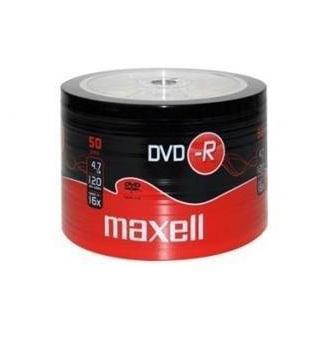 DVD-R MAXELL, 4,7 GB, 16x, 50 бр.