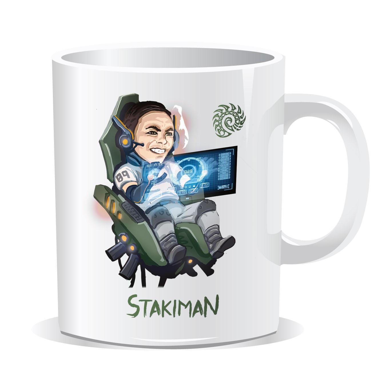 Чаша Gplay TV Stakiman