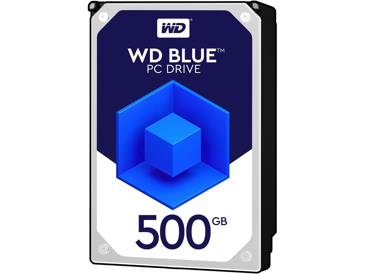 Хард диск WD Blue, 500GB, 7200rpm, 64MB, SATA 3, WD5000AAKX