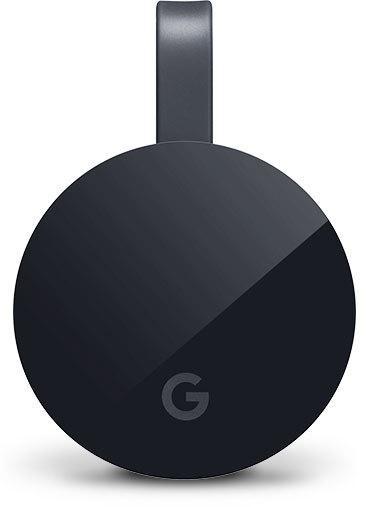 Мултимедиен плеър Google Chromecast Ultra 4k