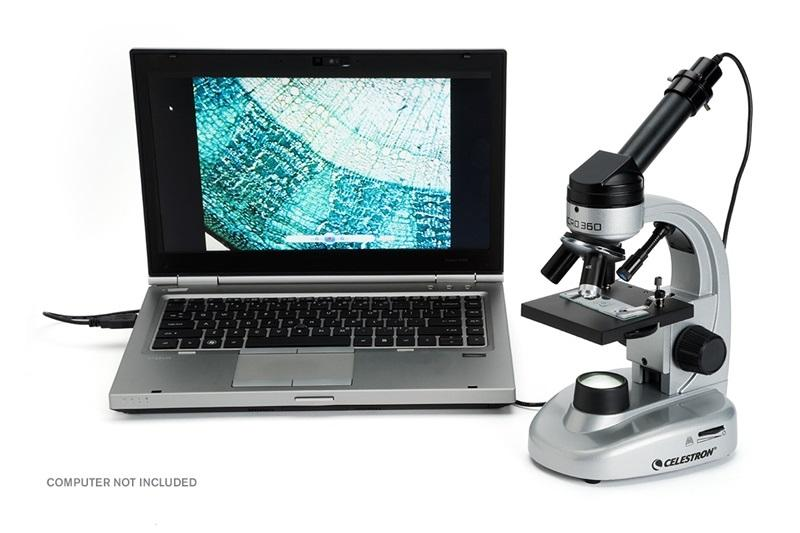 Минкроскоп CELESTRON MICRO360+, с 2 MP камера