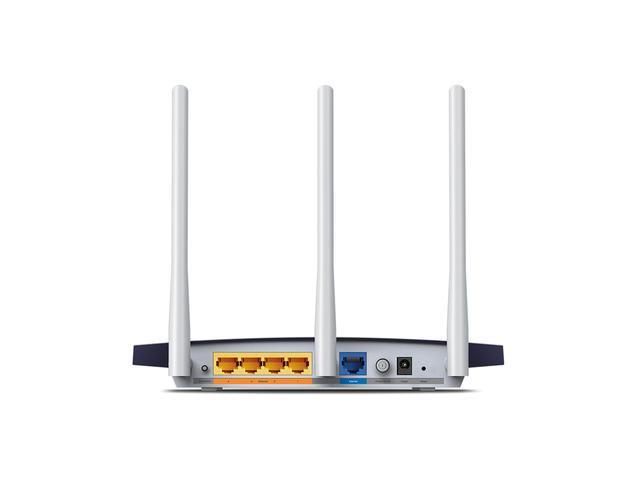 Безжичен рутер TP-Link TL-WR1043N, 300Mbps, Гигабитова мрежа, 5dB сменяеми антени