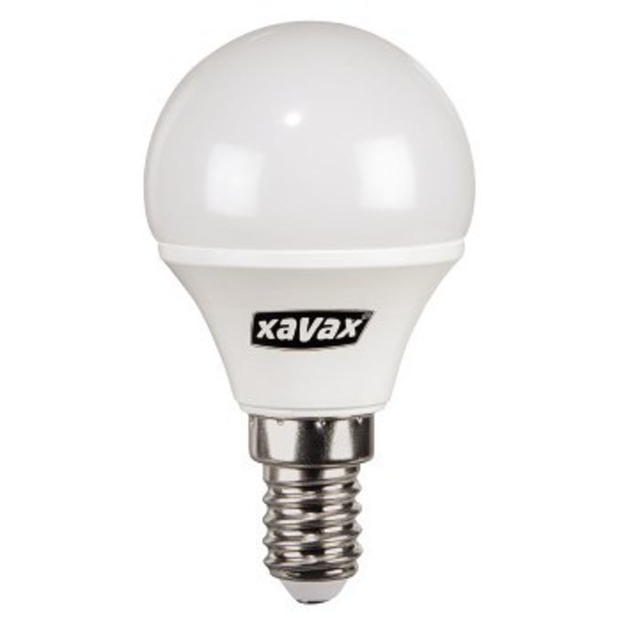LED крушка XAVAX 112217, 230V, 4W, E14, P45, 2700K, bulb