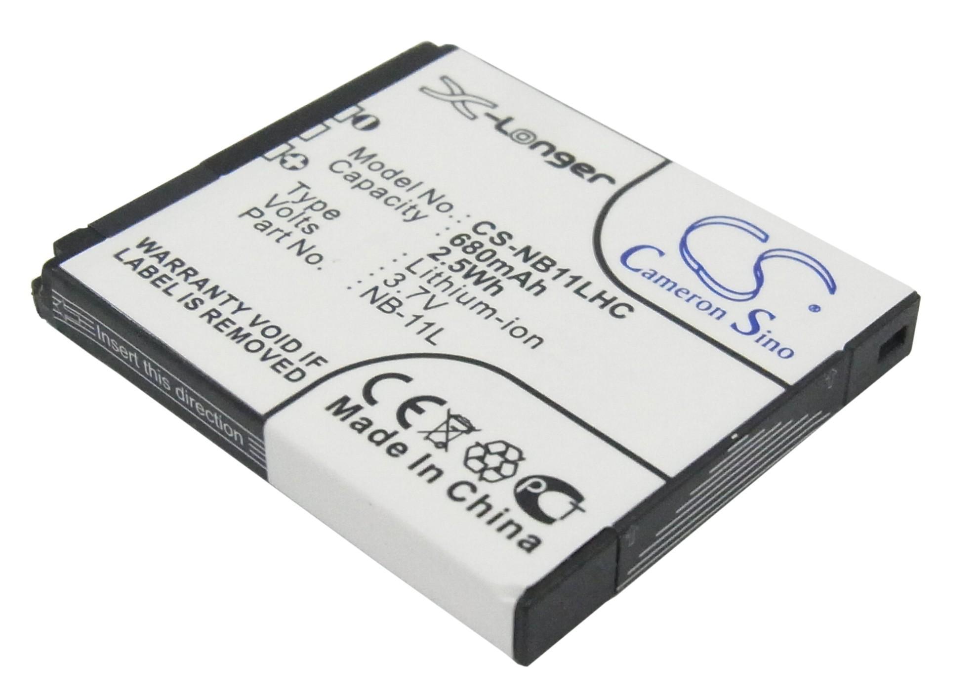 Батерия за камера CANON NB-11L LiIon 3.7V 680mAh Cameron Sino