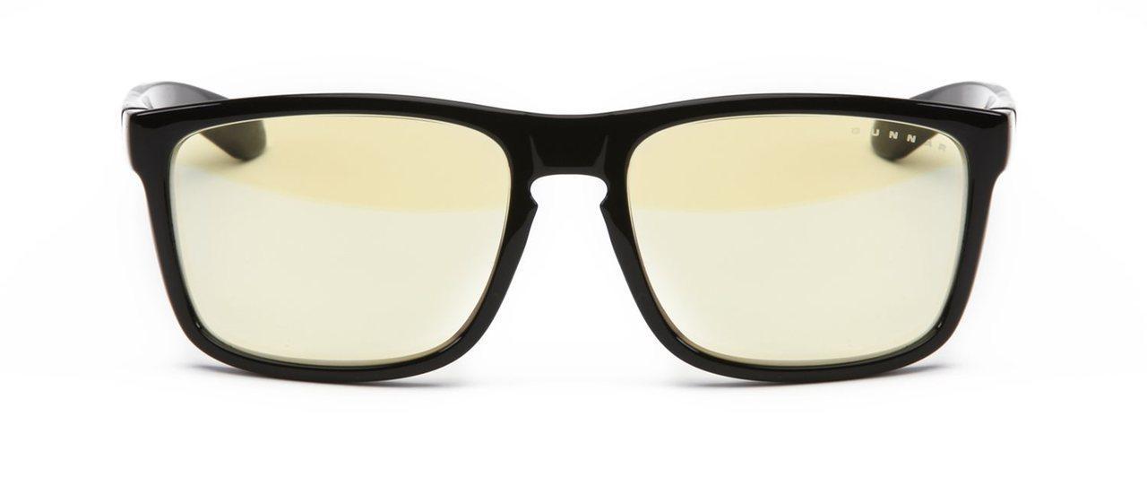 Геймърски очила GUNNAR INTERCEPT Obsidian, Amber, Черен