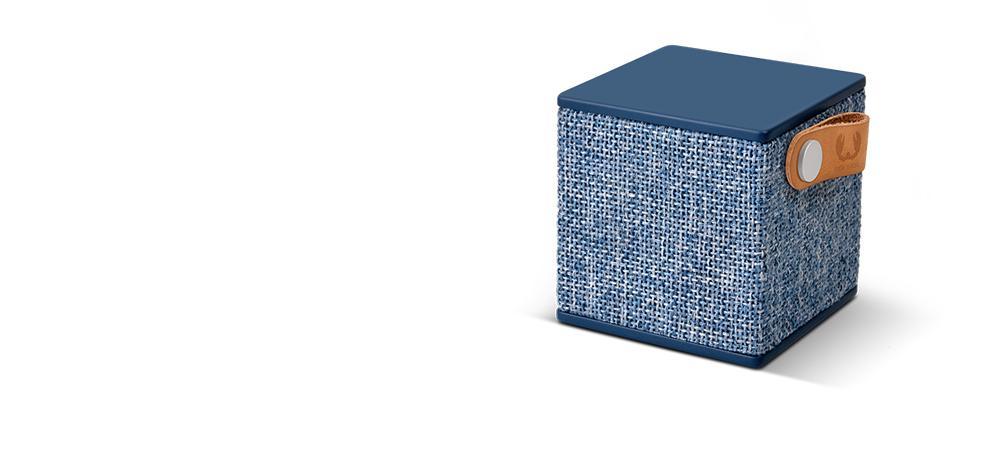 Тонколонка за мобилни устройства Fresh & Rebel Rockbox Cube Indigo