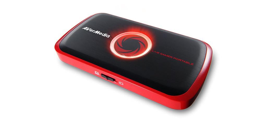 Външен кепчър AVerTV LIVE Gamer Portable USB