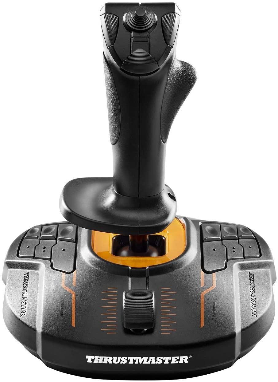 Жичен джойстик, авиосимулатор Thrustmaster T.16000M FCS за PC, Черен