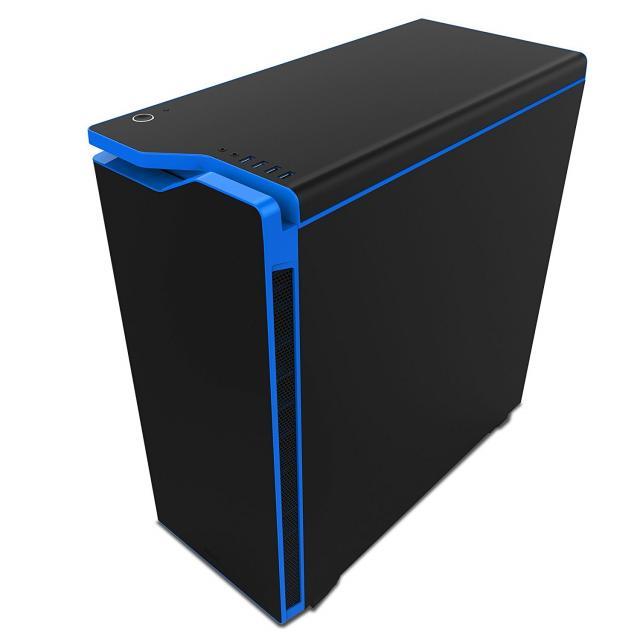 Кутия NZXT H440 Black/Blue + Window Mid Tower