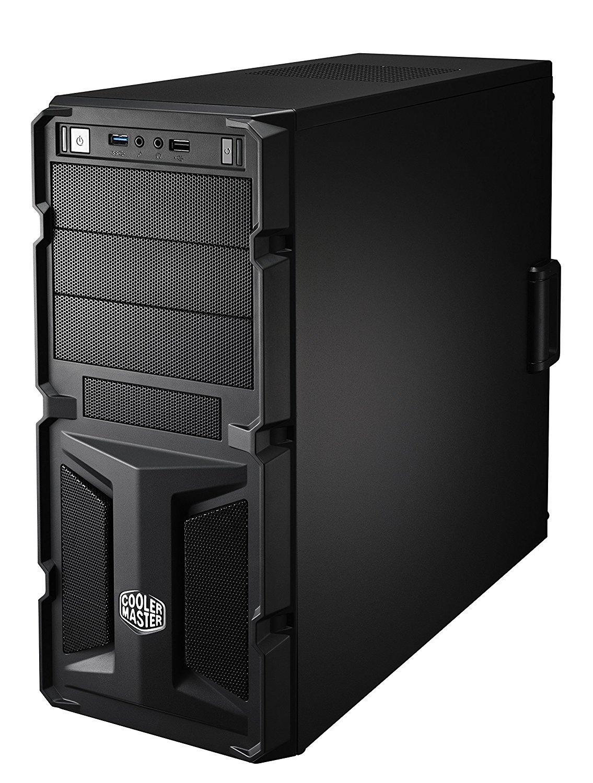 Кутия Cooler Master K350 RC-K350-KWN2-EN, ATX, Черен