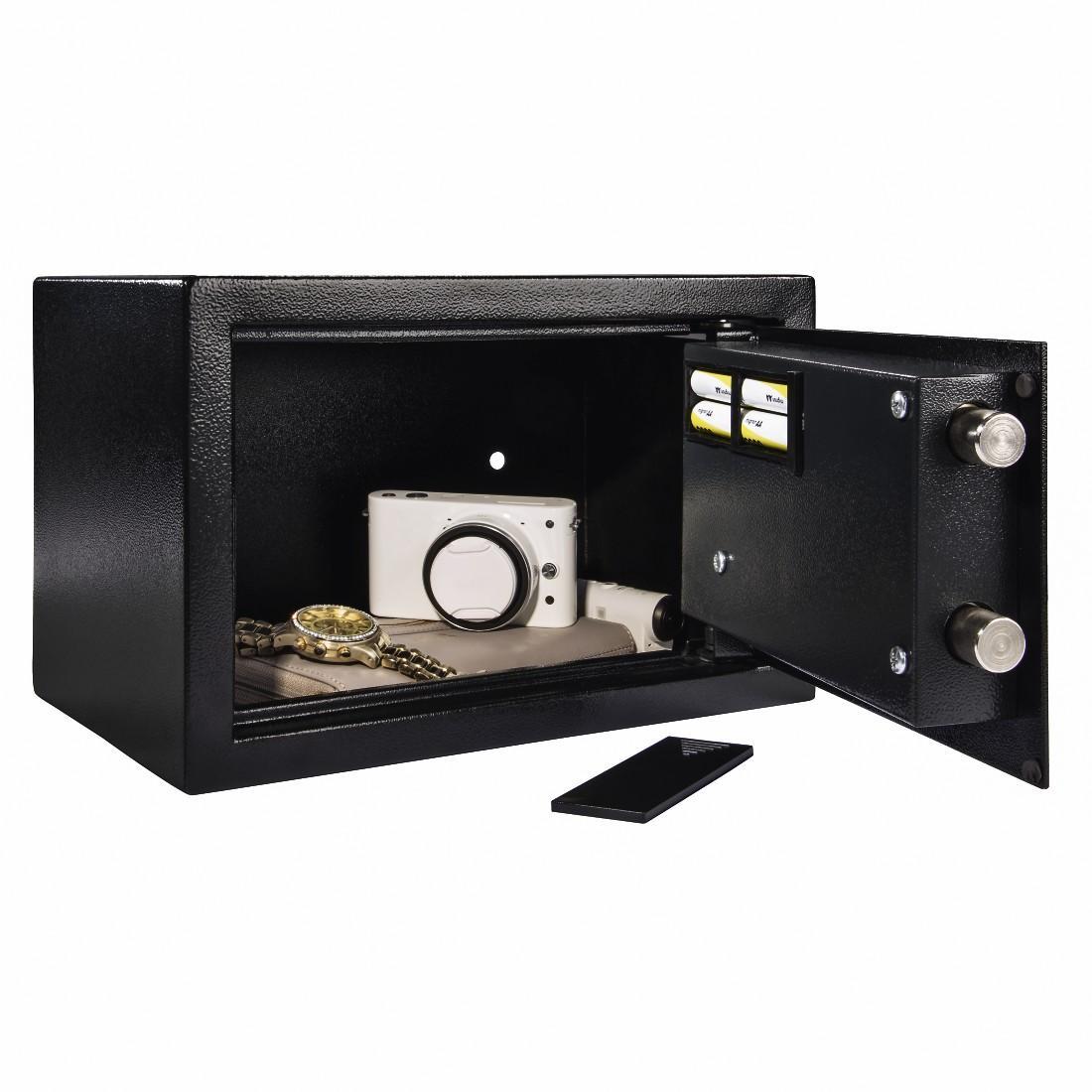 Електронен сейф HAMA Premium EP-200, 31 x 20 x 20 cm, Черен