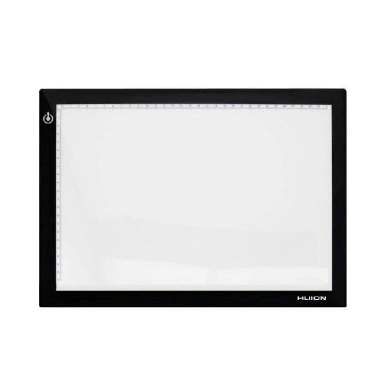LED светеща подложка за рисуване HUION LED light pad L4SUSB, Черен
