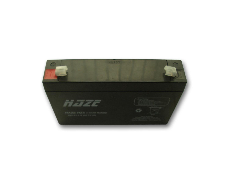 Оловна Батерия Haze (HZS6-7.2) 6 V / 7.2 Ah - 150 / 34 / 94 mm AGM