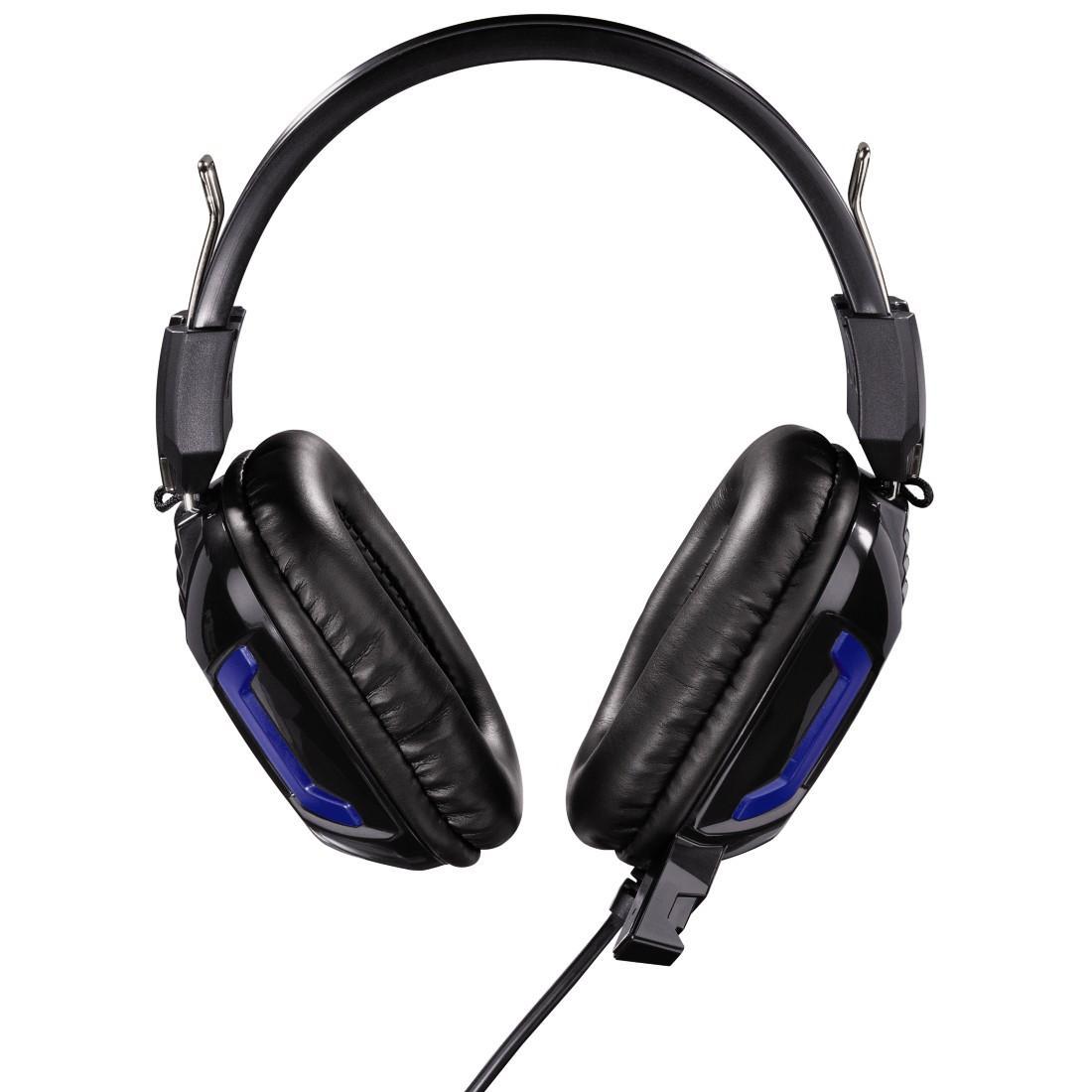 Геймърски слушалки Hama, Urage Soundz Essential, Микрофон, Черно