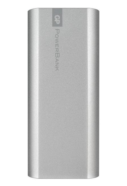 Външна батерия GP GPFN05001, 5200 mAh, сребриста
