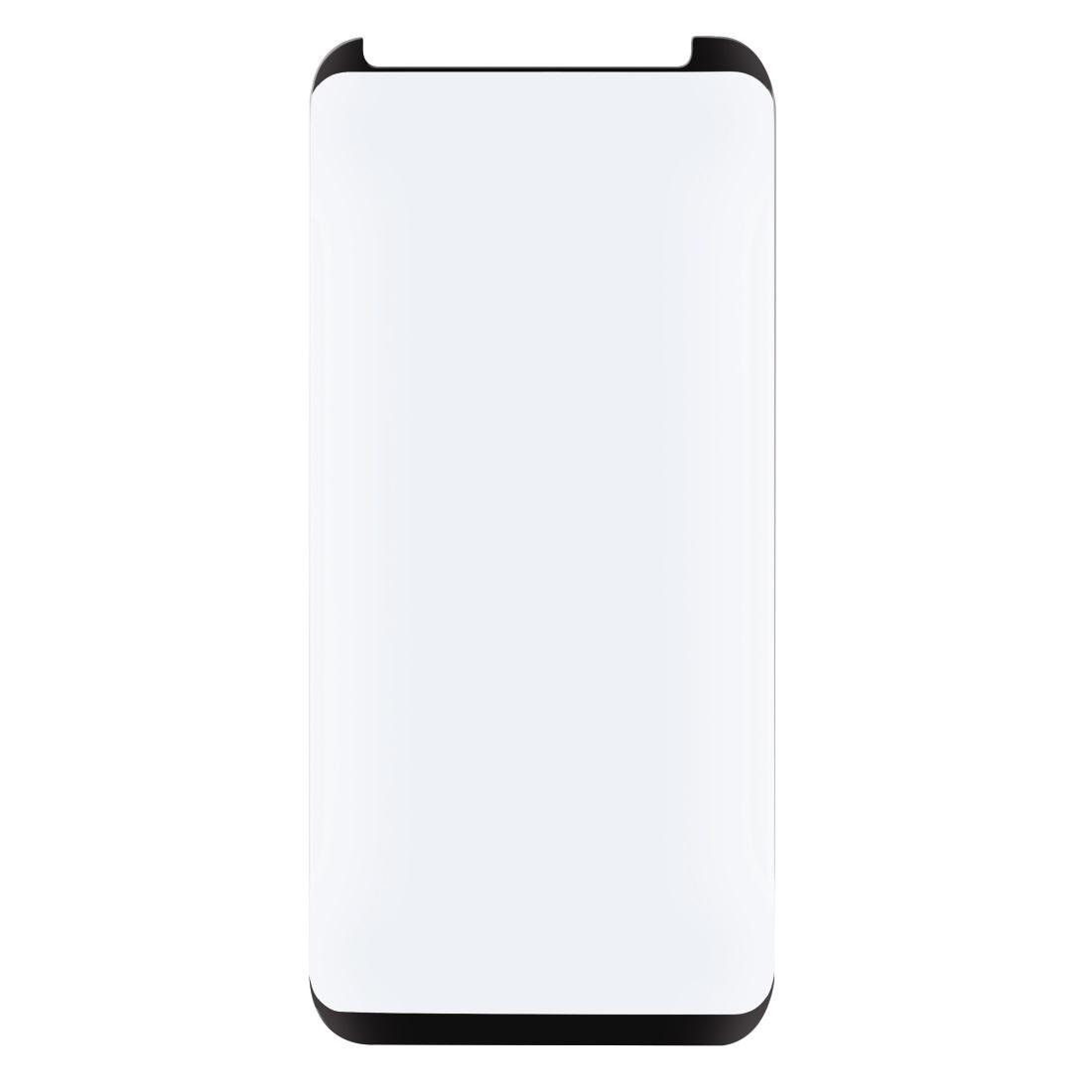 Стъклен 3D протектор HAMA за Samsung Galaxy S9, черен кант