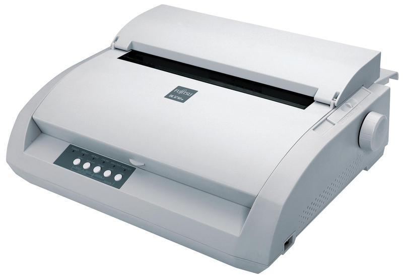 Матричен принтер Fujitsu DL 3750+, Paralel+USB, 80 кол