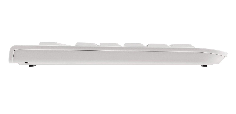 Стандартна клавиатура CHERRY KC 1000, Бял