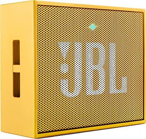 Блутут колонка JBL GO, Жълт