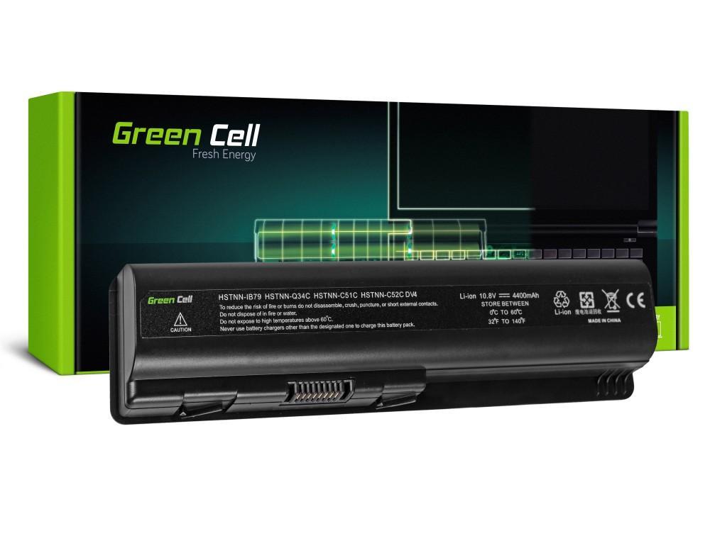 Батерия  за лаптоп HSTNN-LB72 HSTNN-IB72 for HP HP DV4 DV5 DV6  G50 G60 G61 G70 Compaq Presario CQ60 CQ61 CQ70 CQ71  10.8V 4400mAh GREEN CELL