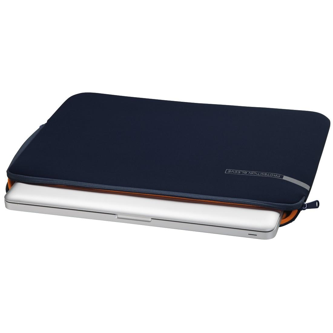 """Калъф за лаптоп HAMA Neoprene, до 40 см (15.6""""), Син"""