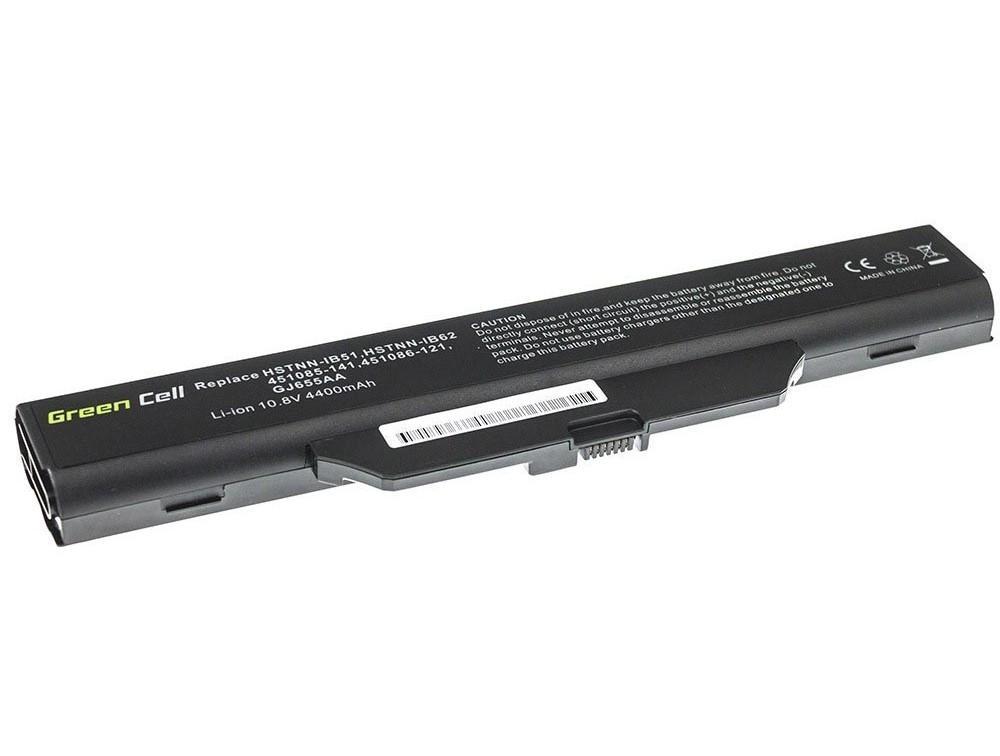 Батерия  за лаптоп HSTNN-IB51 for HP 550 610 615 Compaq 550 610 615 6720 6830 LB51 10.8V 4400mAh GREEN CELL