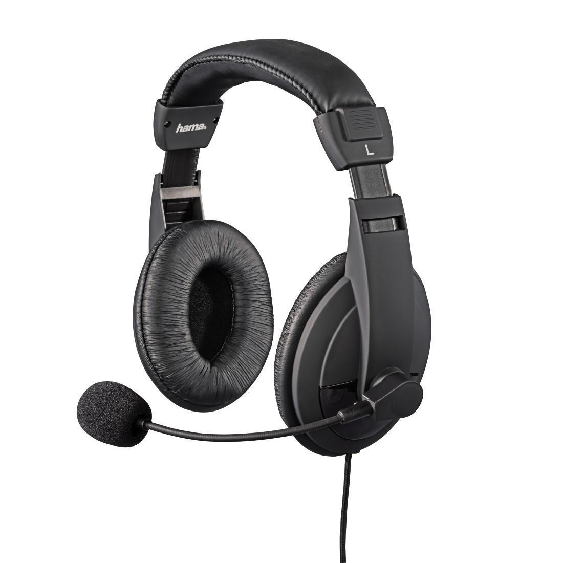 Геймърски слушалки с микрофон HAMA Insomnia Coal 115425, за PS4/SLIM/PRO, Черен