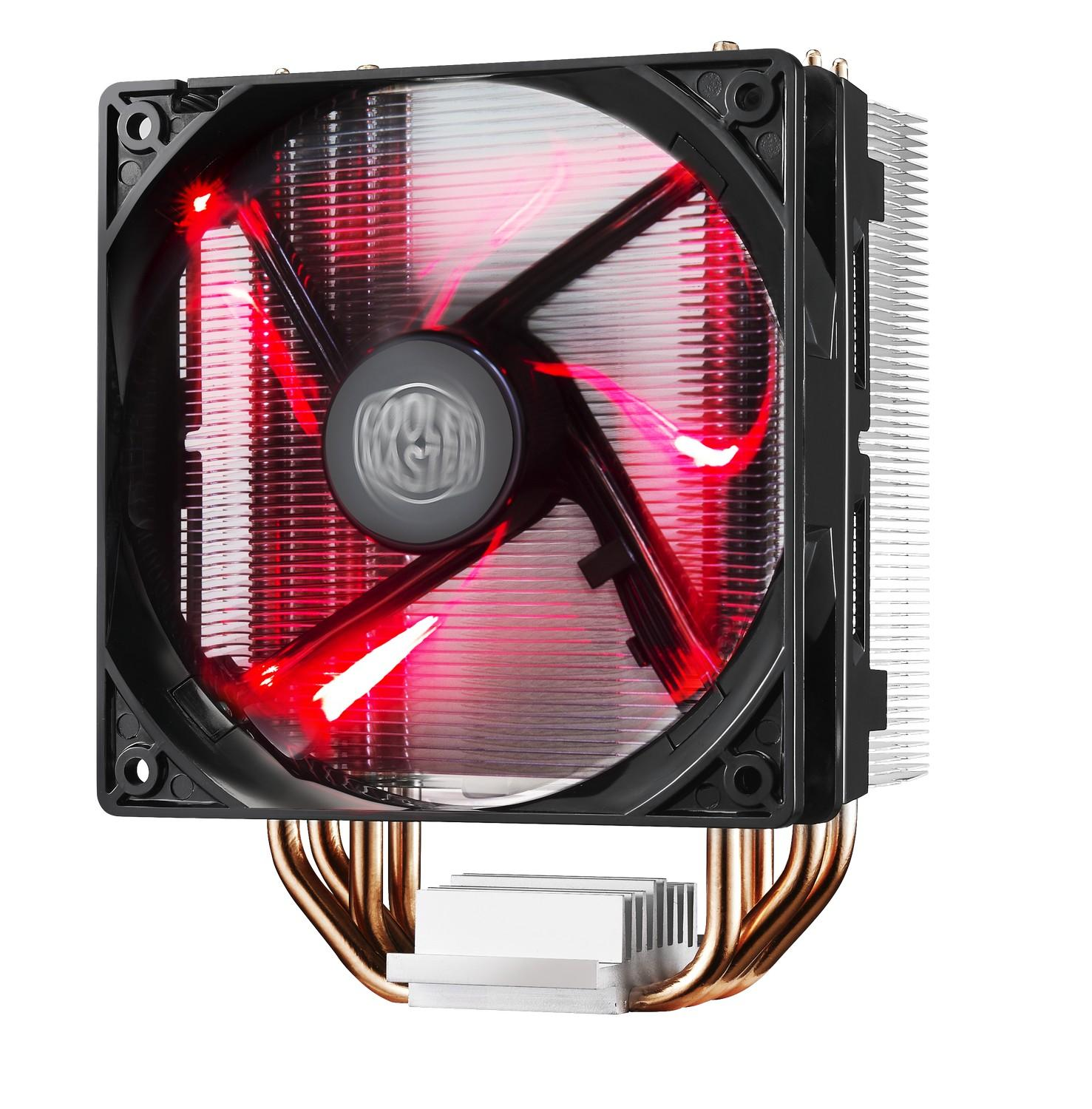 Охладител за процесор Cooler Master Hyper 212 LED, AMD/INTEL