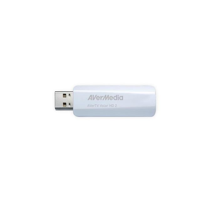 Външен тунер AVerTV Volar HD2, DVB-T, USB 2.0, Дистанционно