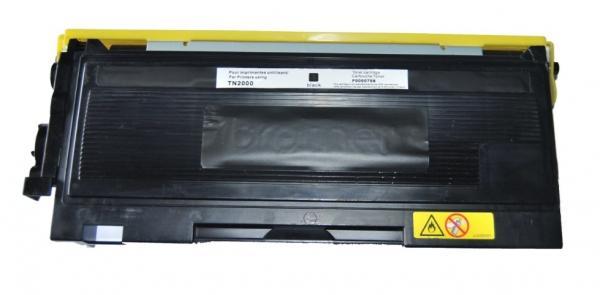 Тонер касета UPRINT TN350/TN2000/2005/TN2025, BROTHER, Черен