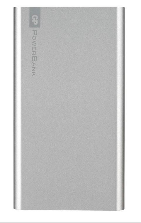 Външна батерия GP GPFN05001, 5000 mAh, сребриста
