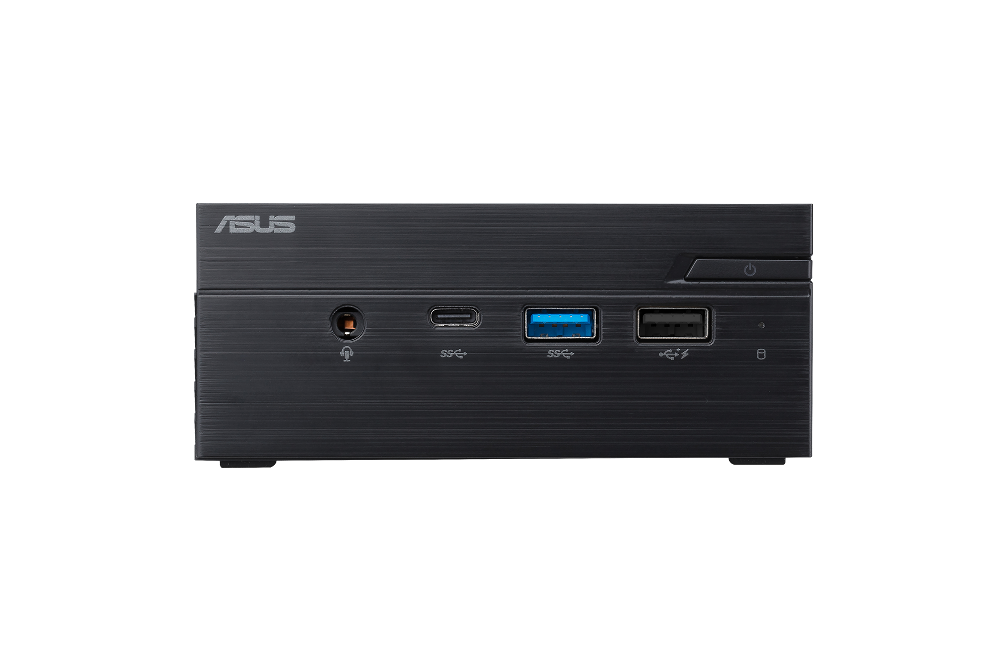 "Настолен компютър ASUS Mini PC PN40-BB009MC Celeron N4000 (fanless)/ 2x SO-DIMM DDR4/ 1*M.2 Slot+ 1* 2.5"" Slot/Wi-Fi AC/COM Port"